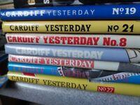 Cardiff Tomorrow books x7 Rare - £55