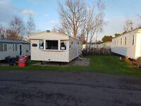 Deluxe 8 berth Caravan to rent at Seton Sands - Pets welcome.