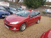 2006 Peugeot 206 SW 1.4 Verve with Full service history