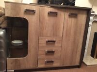 Cabinet and Tv stand