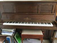 Upright John Broadwood Piano