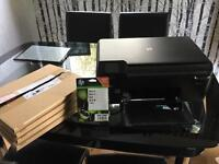 HP B110 series wireless printer/scanner/copier plus ink