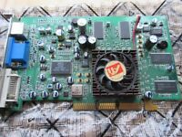 Sapphire Radeon X1550 512MB DDR2 AGP VGA/DVI/TVO Graphics Card