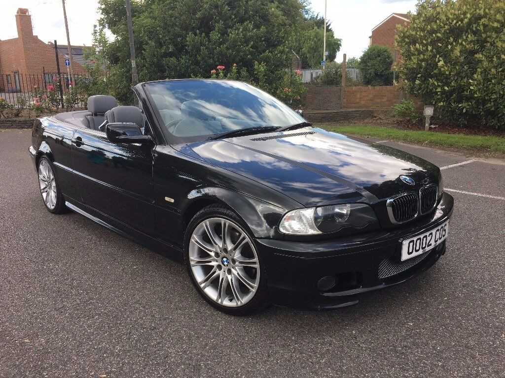 2002 bmw 325i convertible automatic grey leather. Black Bedroom Furniture Sets. Home Design Ideas