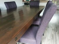 6 Seater Dining Table DFS Montana