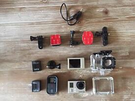Go pro hero 3+ black edition with accessories