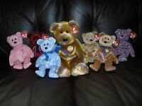 TY Bears - 7 in total