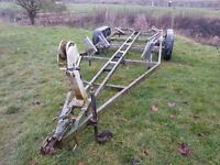 Double Axle Boat Trailer
