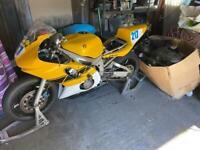 R6 track/ pre injection race bike
