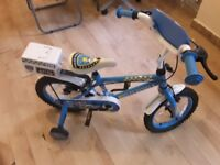 Blue Apollo Police Petrol ,14, Bike (Collection only)