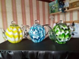 TEAPOT PAPERWEIGHTS-NOW REDUCED
