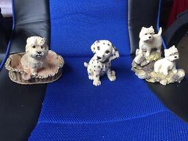 Westy dog figures