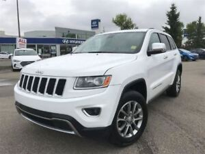 2014 Jeep Grand Cherokee Limited- POWER LIFTGATE, HEATED LEATHER
