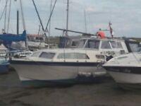 31ft Cabin cruiser boat