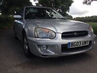 Subaru Impreza 2003 GX Sport Wagon 9 months mot full service