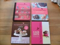 The Hummingbird Bakery Hardback Books x 4- In excellent condition