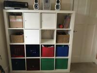 GREAT IKEA STORAGE SHELVING UNIT WITH CUPBOARDS AND DRAWERS