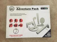 Nintendo Wii 6-in-1 Adventure Pack Accessories