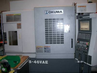 Used 2005 Okuma Mb-46 Vae Cnc Vertical Machining Center Mill Renishaw 15k Rpm