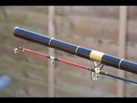 Zziplex sea match dream cast 50/50 Long Distance Beach Rod in VGC. 13.6ft fuji guides