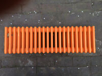Cast Iron Radiator - orange - 1.05m