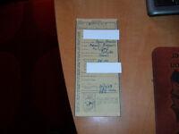massey ferguson fe35/35 135 logbooks