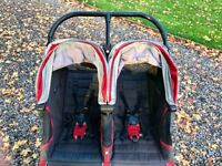 City mini double buggy