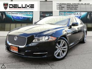 2011 Jaguar XJ XJL XJL NAVIGATION LOADED BLACK $0 DOWN OAC