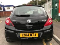 2014 (14 reg) Vauxhall Corsa 1.0 i ecoFLEX 12v Sting 3dr Hatchback Petrol