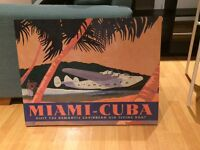 Miami-Cuba picture painting