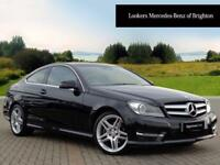 Mercedes-Benz C Class C220 CDI BLUEEFFICIENCY AMG SPORT (black) 2013-10-25