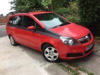 Vauxhall zafira 1.6 7 seater 2007 NO MOT