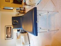 Portable therapy/beauty/treatment/massage bed/couch/ table