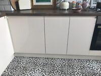 Cream Gloss Kitchen Doors