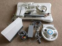 Nintendo Wii and accessories / games