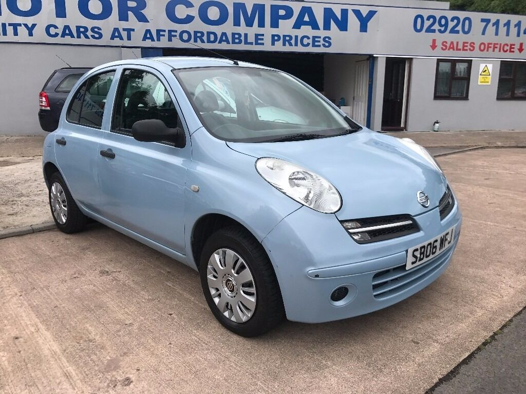 2006 NISSAN MICRA AUTOMATIC 5 DOOR BLUE EXCELLENT CONDITION VERY ...