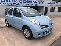 2006 NISSAN MICRA AUTOMATIC 5 DOOR BLUE EXCELLENT CONDITION VERY RARE CAR DRIVES LOVELY