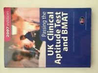 UK Clinical Aptitude Test and BMAT Book