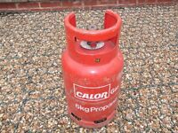 £15 - EMPTY Calor Gas 6kg Propane gas Empty bottle/cylinder, BBQ, camping, caravan.