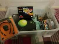 Retro gaming bundle bits (car boot?)