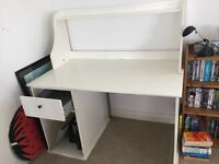 Table desk with cupboard