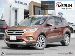 2017 Ford Escape Titanium CERTIFIED PRE OWNED