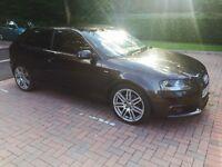 Audi A3. S line. 1.6 Petrol. High spec.