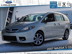 2007 Mazda MAZDA5 GS**6 PLACES*GR. ÉLECTRIQUE*A/C**
