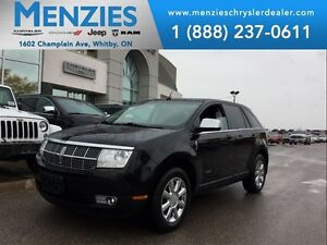 2008 Lincoln MKX AWD, DVD, Pan Roof, Leather, Navi