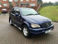 Mercedes ML 270CDI 2001/Y 7 Seater, F/S/H Timing Kit Changed! *Quick Sale* £1450