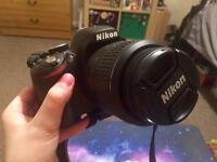 NIKON D3200 DSLR Camera with 18-55 mm Zoom Lens – Black