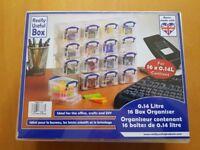 Really Useful Box - 16 box organiser - multicoloured - Brand new still wrapped