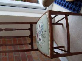 Antique bedroom chair