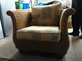 Perfect wicker chair